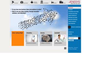 jenesystech.com screenshot