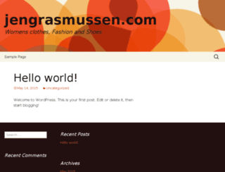 jengrasmussen.com screenshot