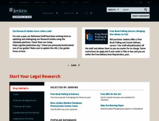 jenkinslaw.org screenshot