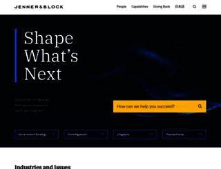 jenner.com screenshot