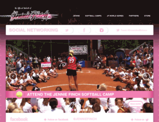 jenniefinch.com screenshot