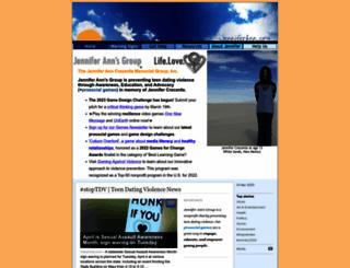 jenniferann.org screenshot