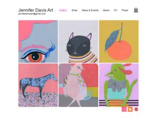 jenniferdavisart.com screenshot