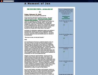 jenniferweiner.blogspot.com screenshot