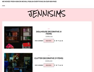 jennisimsunanuevaexperiencia.blogspot.com screenshot