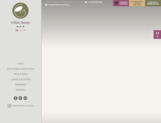 jenny-hotel.com screenshot