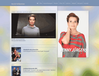 jennyjuergens.de screenshot