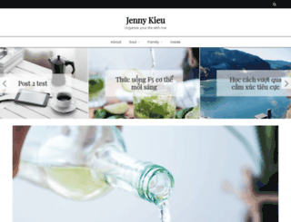 jennykieu.com screenshot
