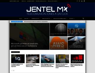 jentel.mx screenshot