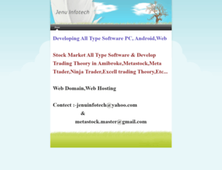 jenuinfotech.weebly.com screenshot