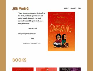 jenwang.net screenshot