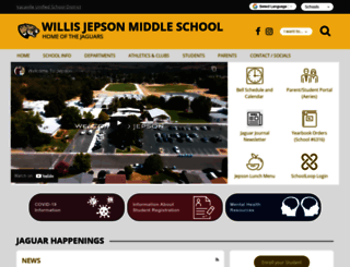 jepson.schoolloop.com screenshot