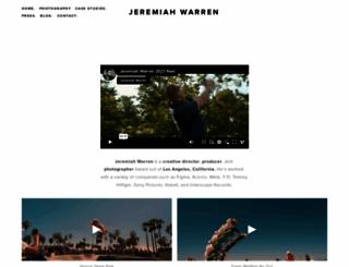 jeremiahwarren.com screenshot