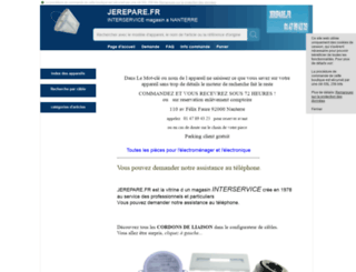 jerepare.fr screenshot