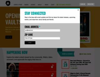 jerrygarcia.com screenshot