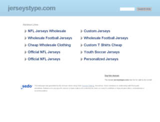 jerseystype.com screenshot