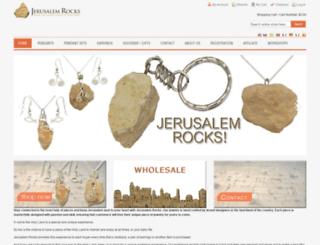 jerusalem-rocks.com screenshot