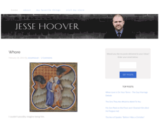 jessehoover.com screenshot
