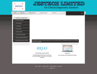 jestechdiagnostics.com screenshot