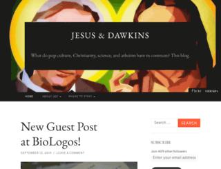jesusanddawkins.com screenshot
