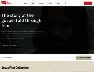 jesusfilmmedia.org screenshot