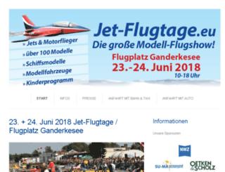 jet-flugtage.eu screenshot