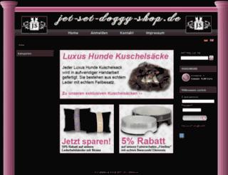 jet-set-doggy-shop.de screenshot
