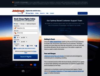 jetabroad.com.au screenshot