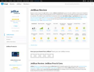 jetblue.knoji.com screenshot