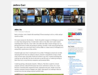 jethrocarr.com screenshot