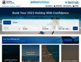 jetlineholidays.com screenshot