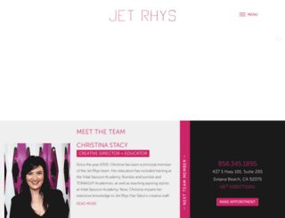 jetrhyshair.com screenshot