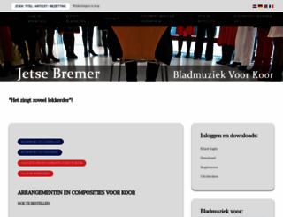 jetsebremer.nl screenshot