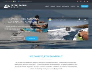 jetskisafarisplit.com screenshot