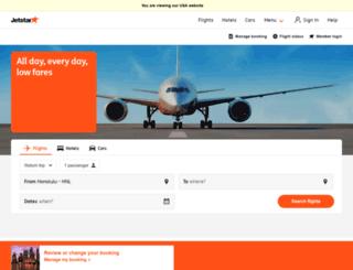 jetstarpacific.com.vn screenshot