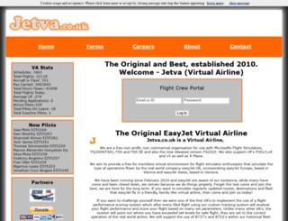 jetva.co.uk screenshot