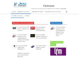 jeu-concours.ch screenshot