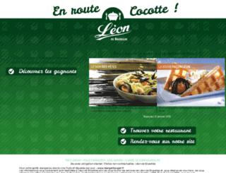 jeu-leondebruxelles.fr screenshot