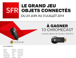 jeuchromecast.sfr.re screenshot