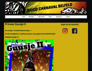 jeugdcarnavalbelfeld.nl screenshot