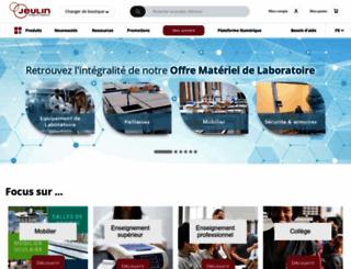 jeulin.fr screenshot