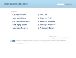 jeunesseclub.com screenshot