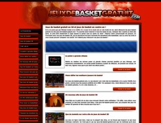 jeux-de-basket-gratuit.com screenshot