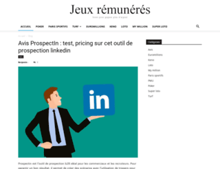 jeux-remuneres.com screenshot