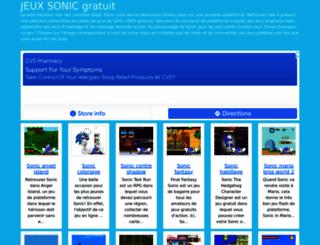 jeux-sonic.org screenshot