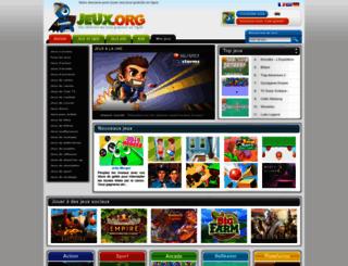 jeux.org screenshot