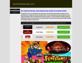 jeux2bobleponge.com screenshot