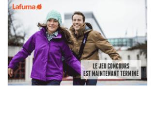 jeuxconcours.lafuma-boutique.com screenshot