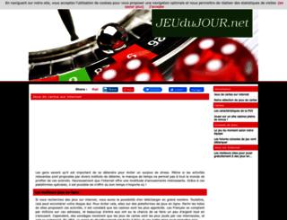 jeuxdujour.net screenshot