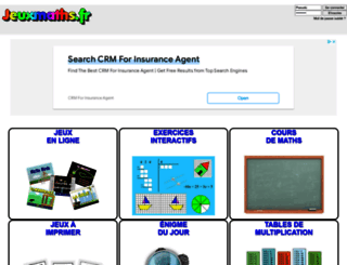 jeuxmaths.fr screenshot